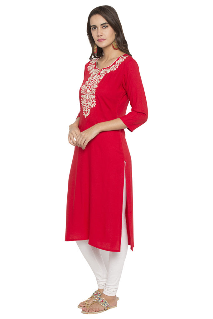 Embroidered Kurta-4