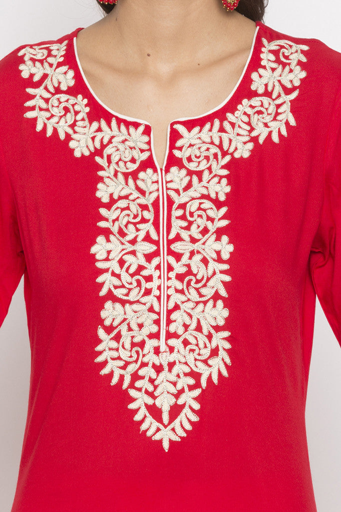 Embroidered Kurta-5