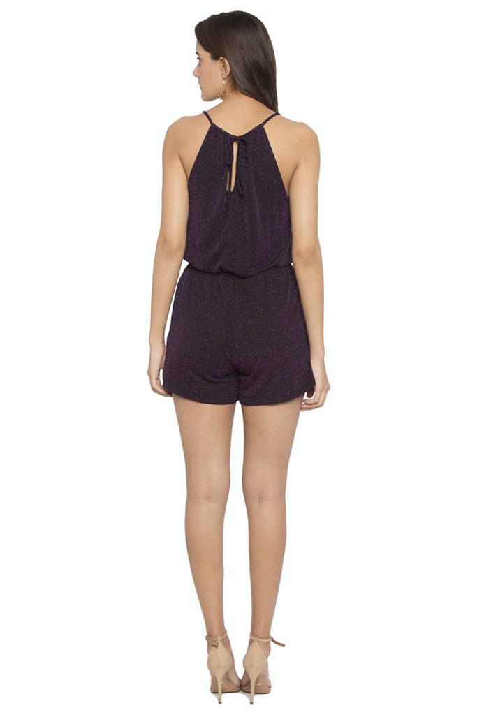 Strappy Waisted Playsuit-3