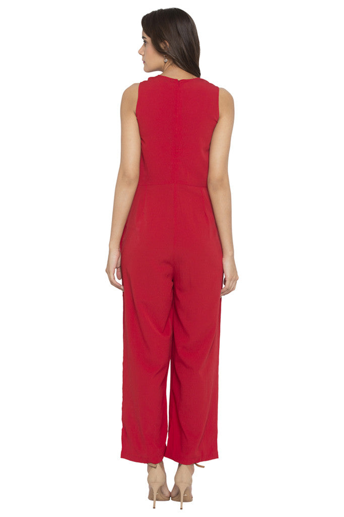 Front Bow Jumpsuit-3