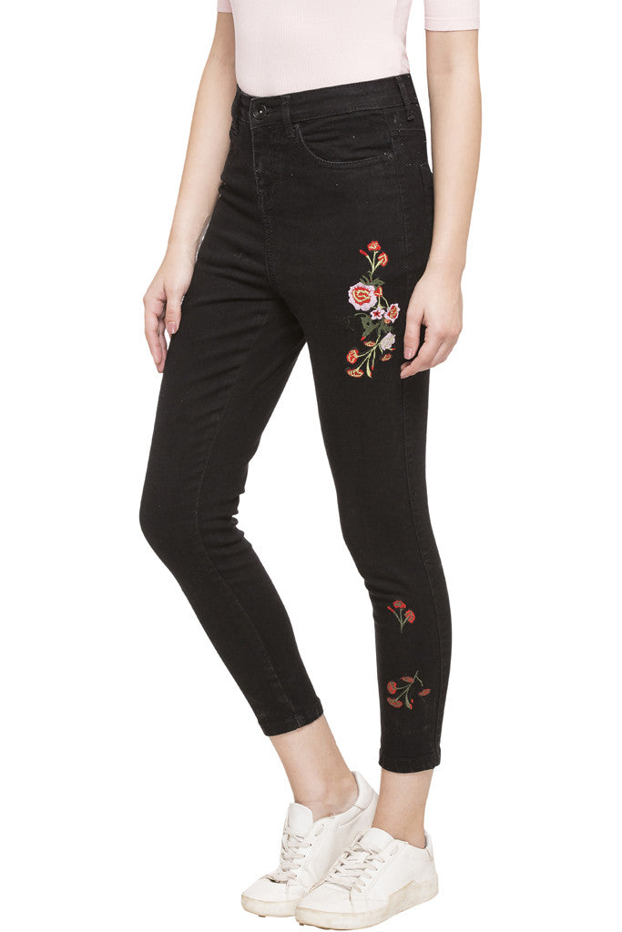 Embroidered Denims-2