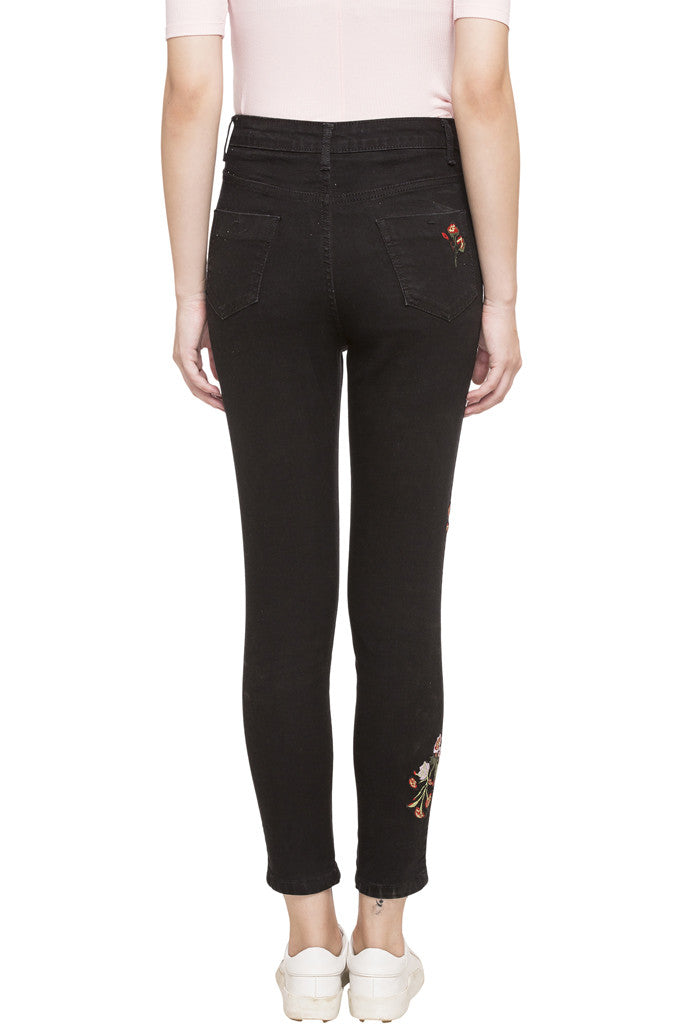 Embroidered Denims-3