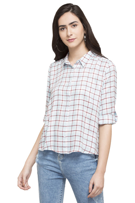 Checked Casual Shirt-1
