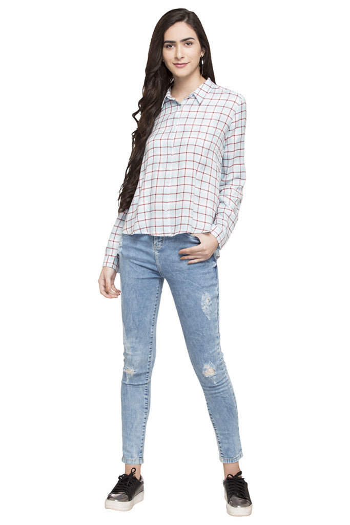 Checked Casual Shirt-2