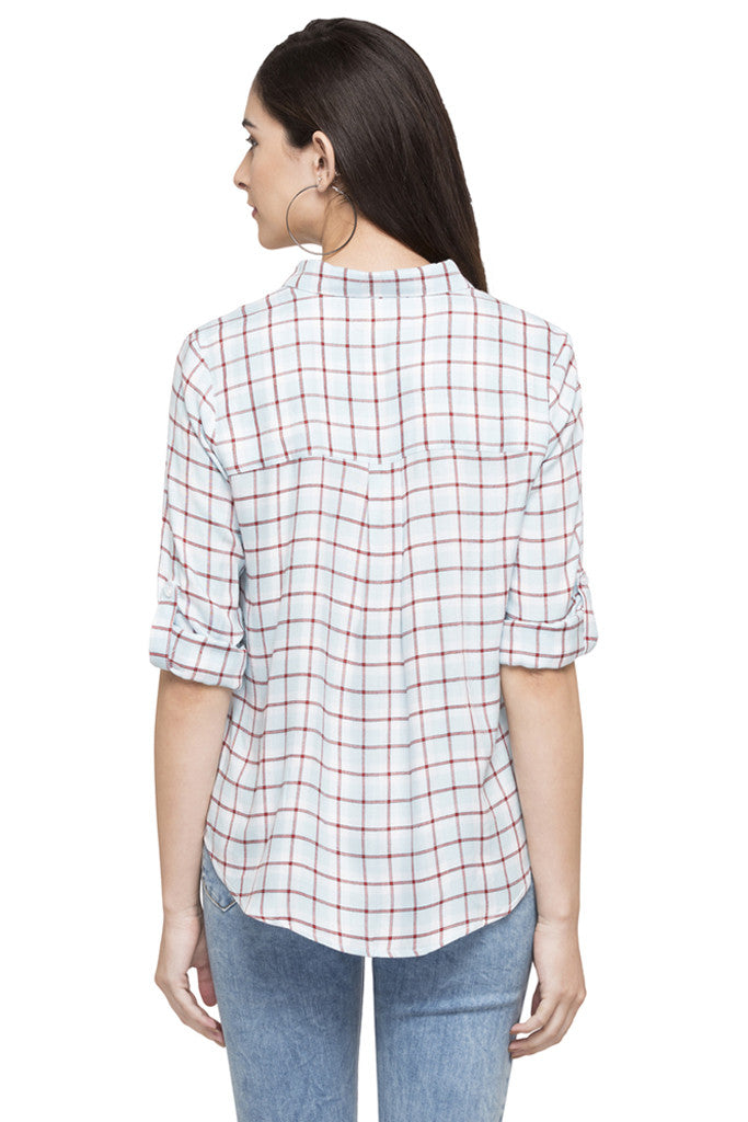 Checked Casual Shirt-3