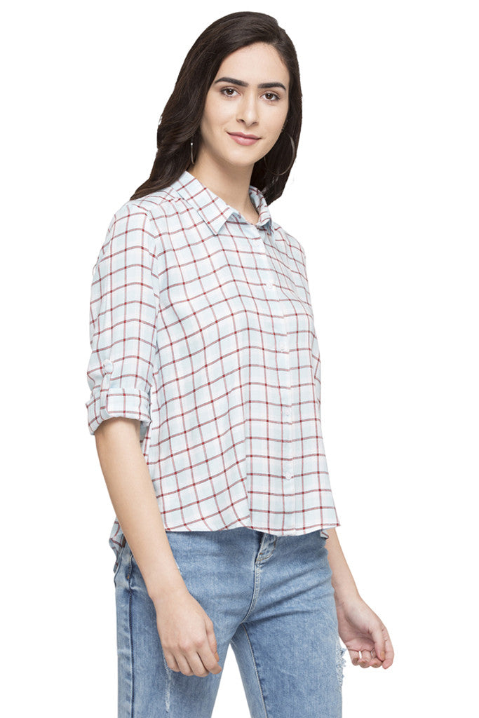 Checked Casual Shirt-4