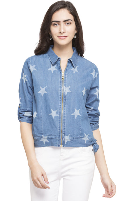 Star Denim Jacket-1