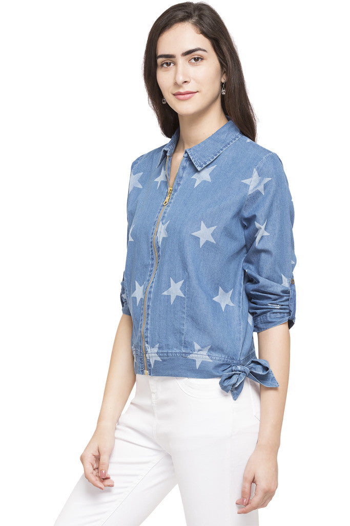 Star Denim Jacket-2