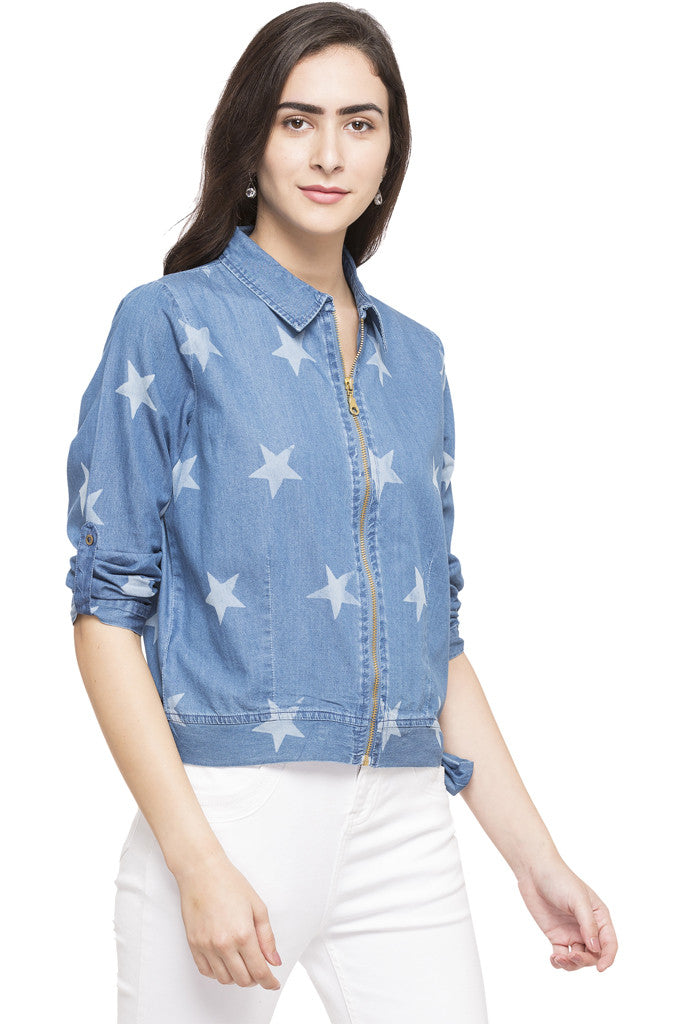 Star Denim Jacket-4