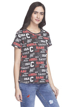 Load image into Gallery viewer, Typography Print T-shirt-4