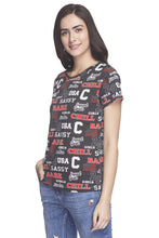 Load image into Gallery viewer, Typography Print T-shirt-5