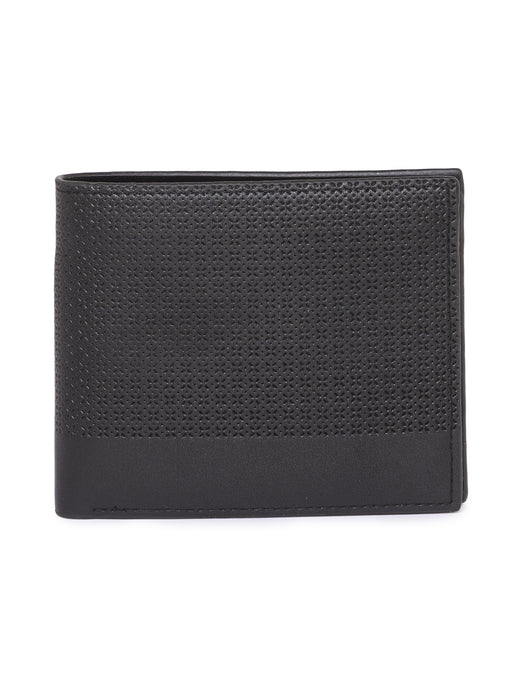 Cut Work Black Wallet-1
