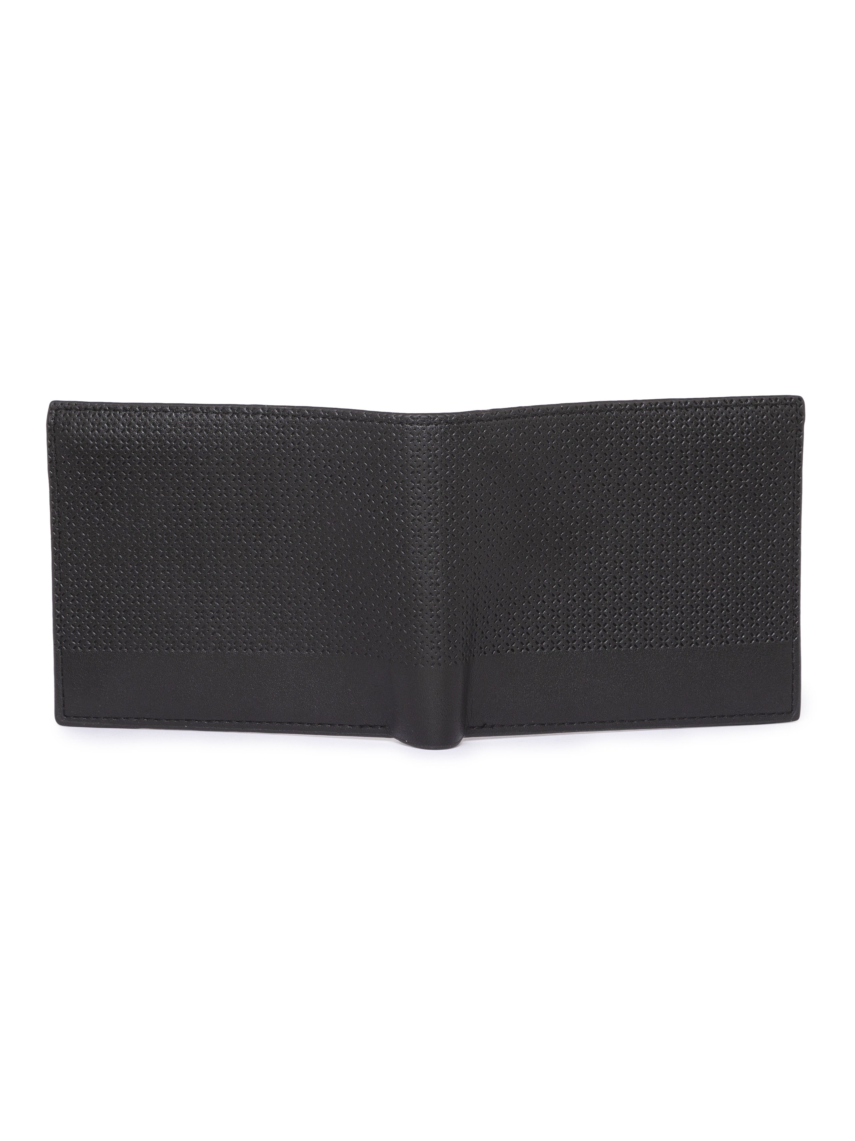 Cut Work Black Wallet-4