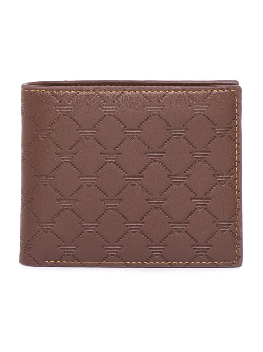 Textured Dark Brown Wallet-1