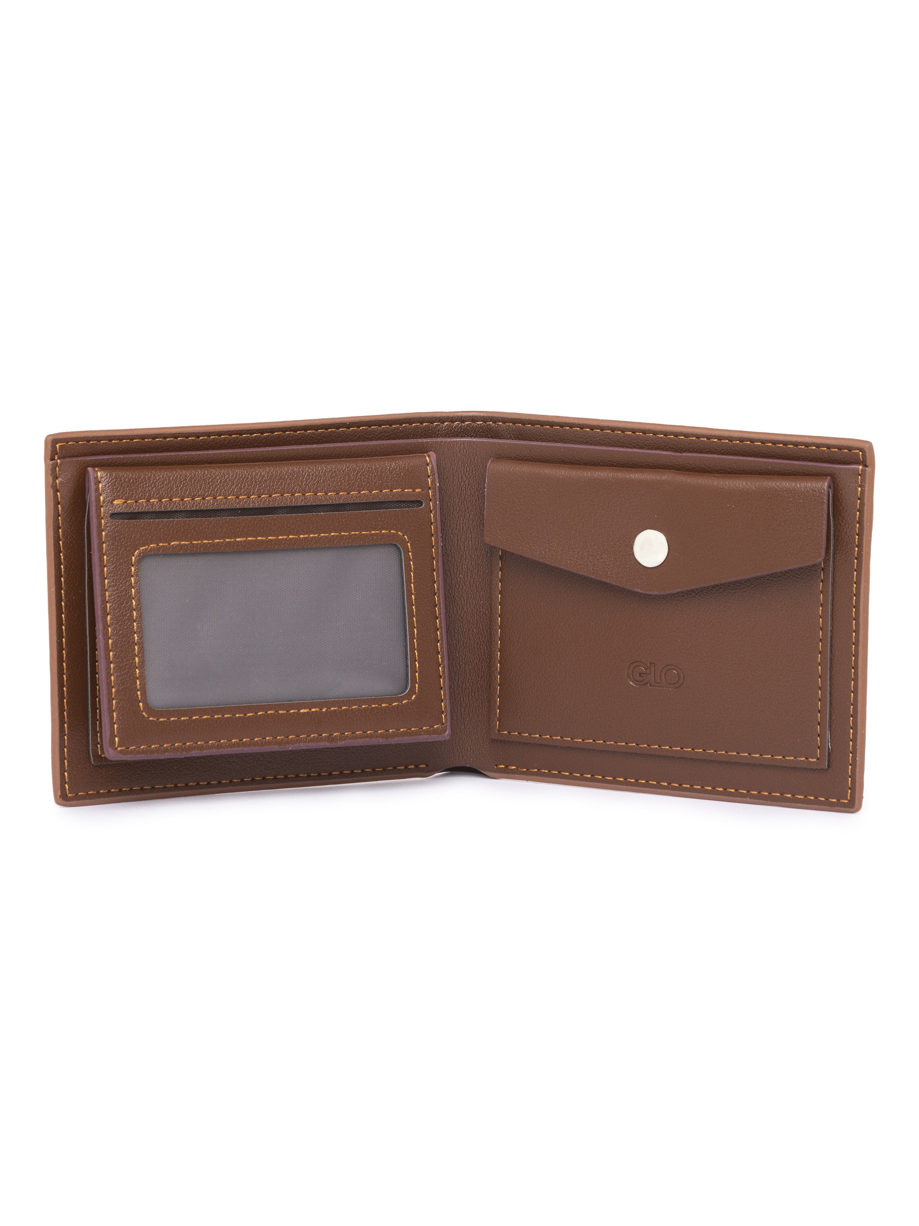 Solid Tan Wallet-3