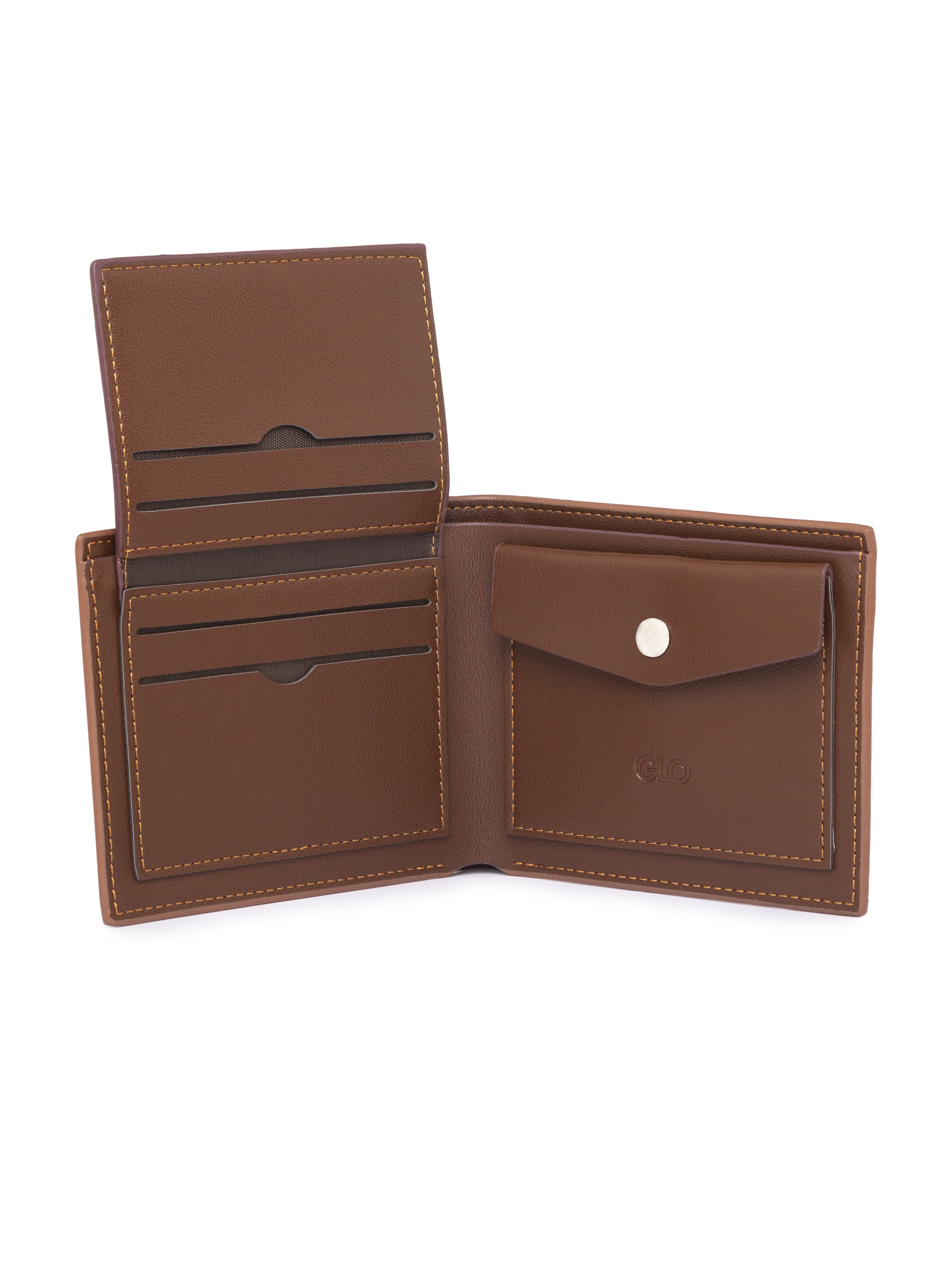 Solid Tan Wallet-5
