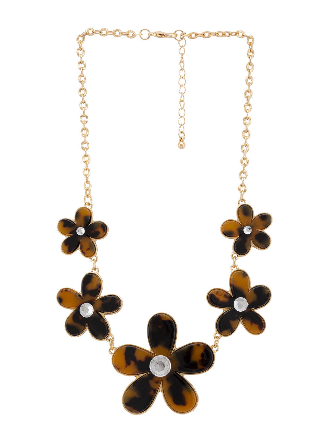 Gold & Black Necklace-1