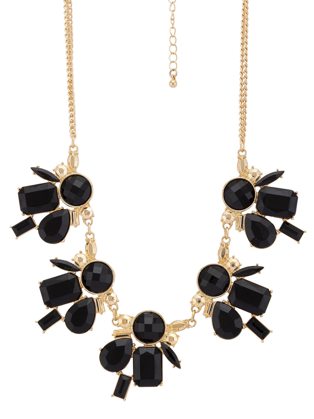 Gold & Black Necklace-2