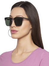 Load image into Gallery viewer, Green Wayfarer Sunglasses-5