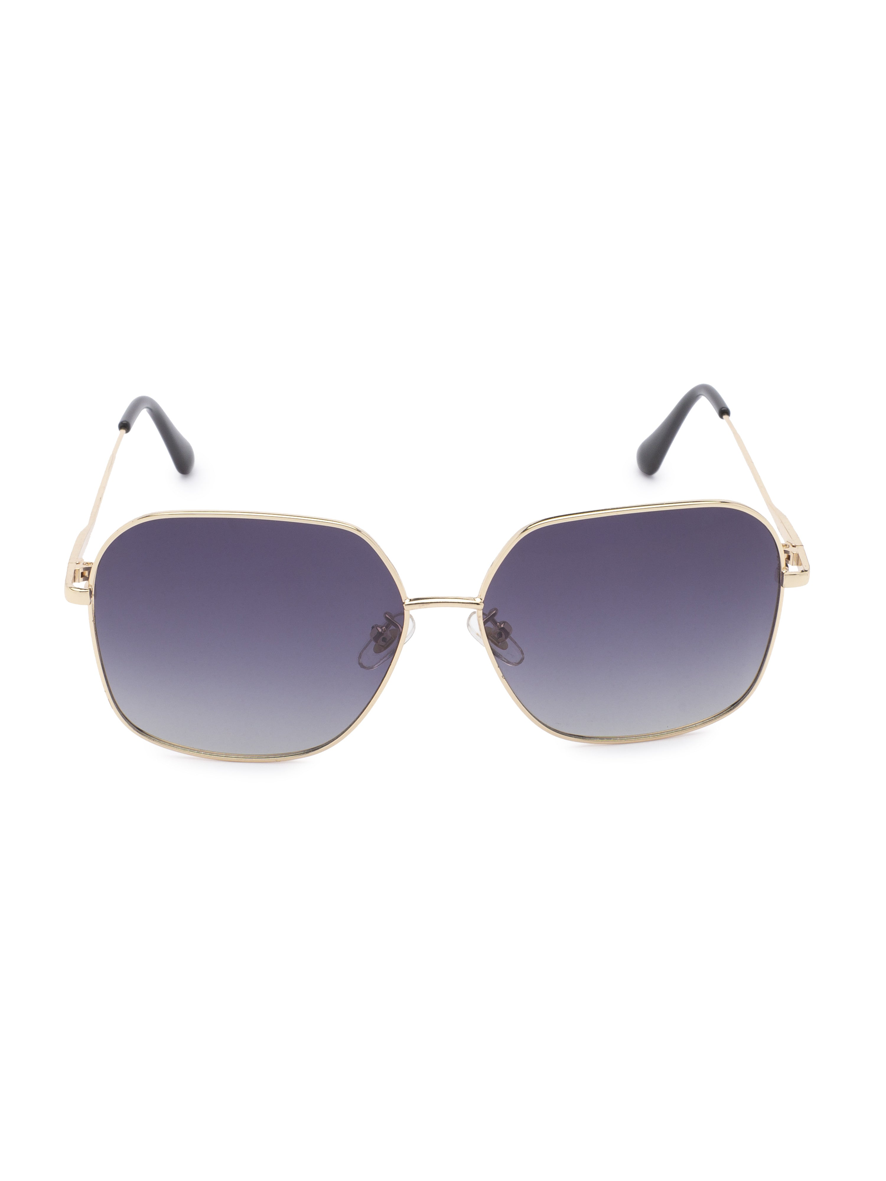 Grey Aviator Sunglasses-1