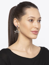 Load image into Gallery viewer, Silver Drop Earrings-3
