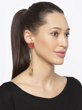 Load image into Gallery viewer, Gold Drop Earrings-3