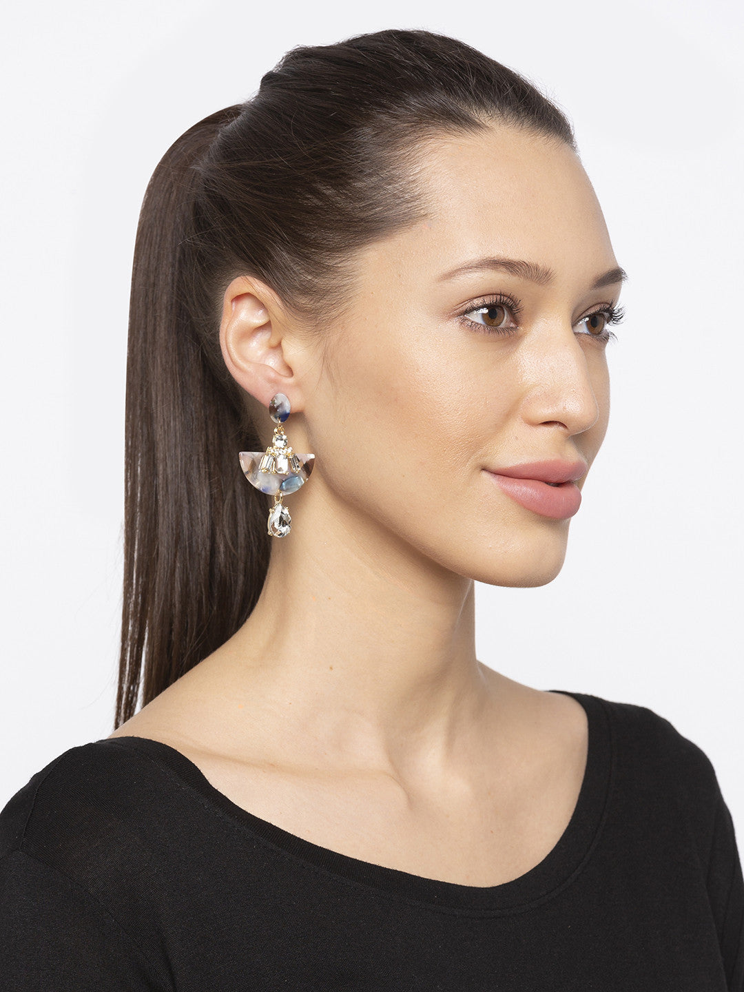 Gold Hoop Earrings-3