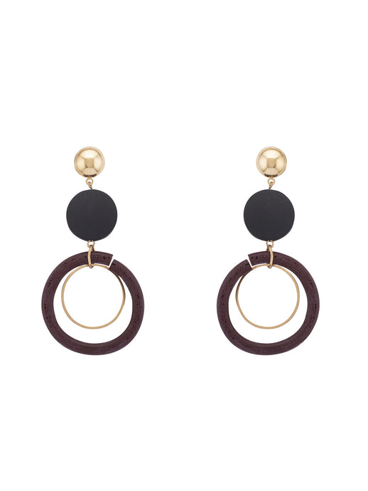 Gold Drop Earrings-1