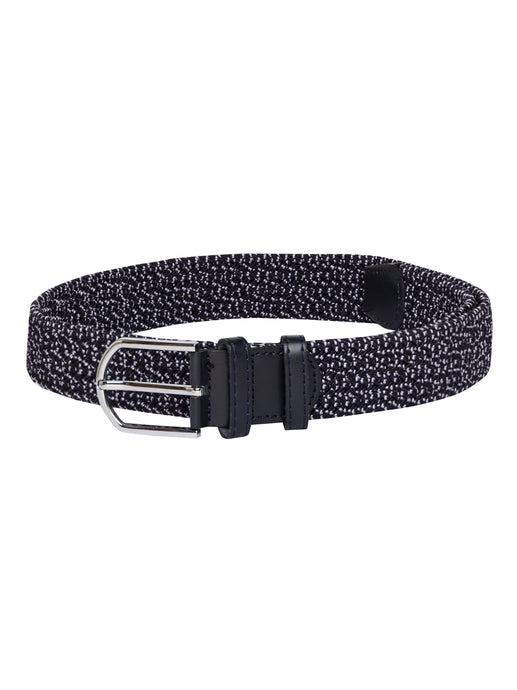 Speckled Braided Navy Blue Belt-1