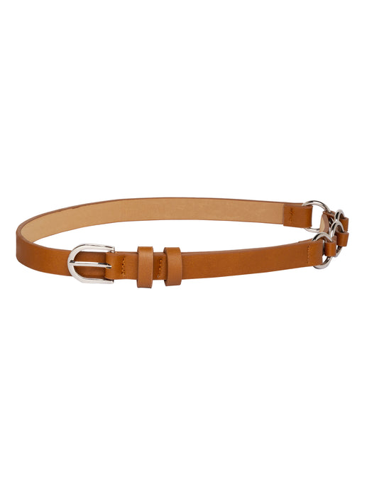 Designer Tan Casual Belt-1