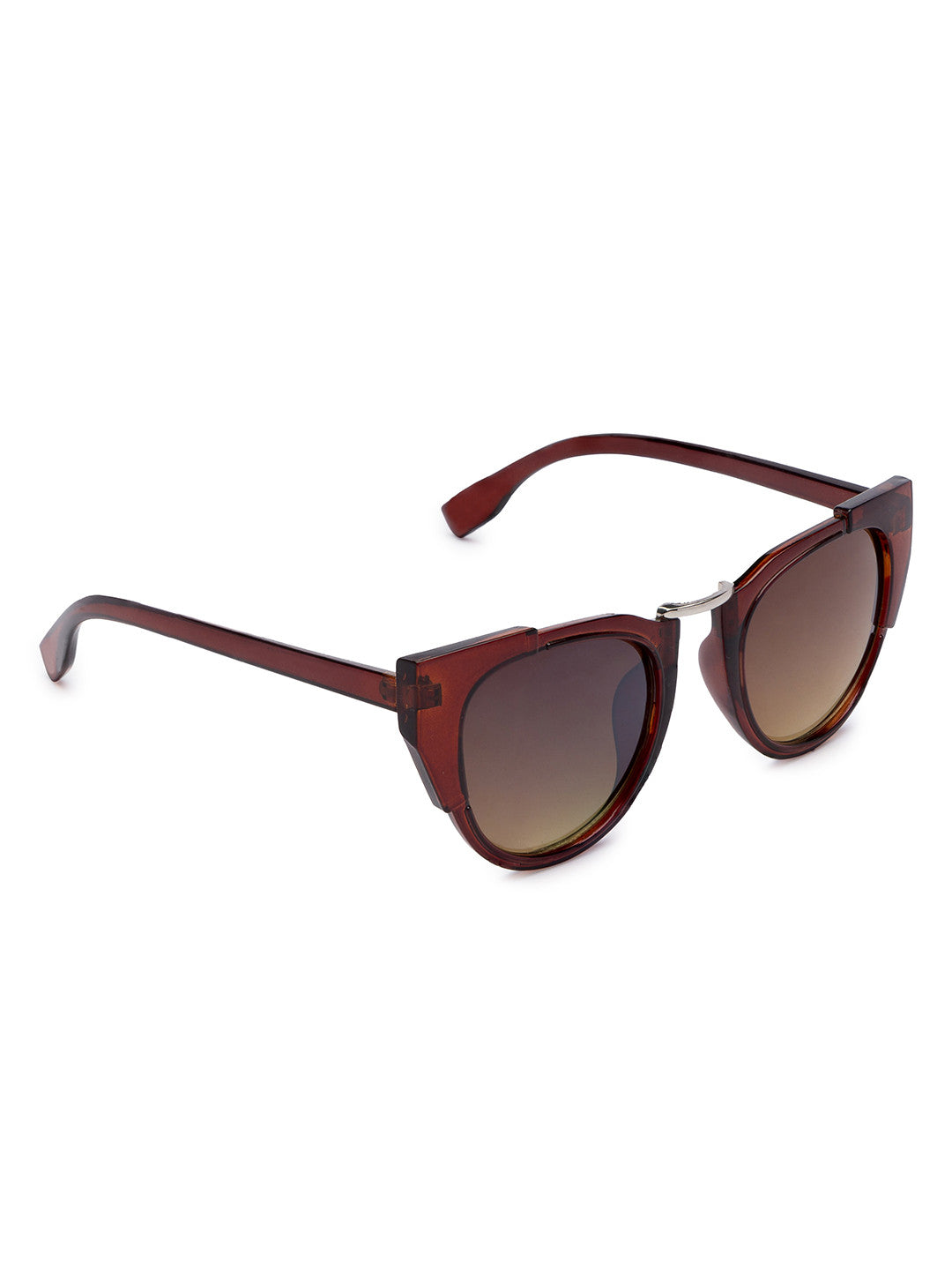 Brown Full Rim Wayfarer Sunglasses-3