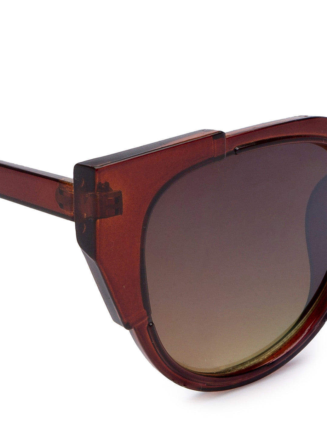 Brown Full Rim Wayfarer Sunglasses-4