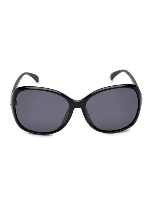 Black Full Rim Wayfarer Sunglasses-1