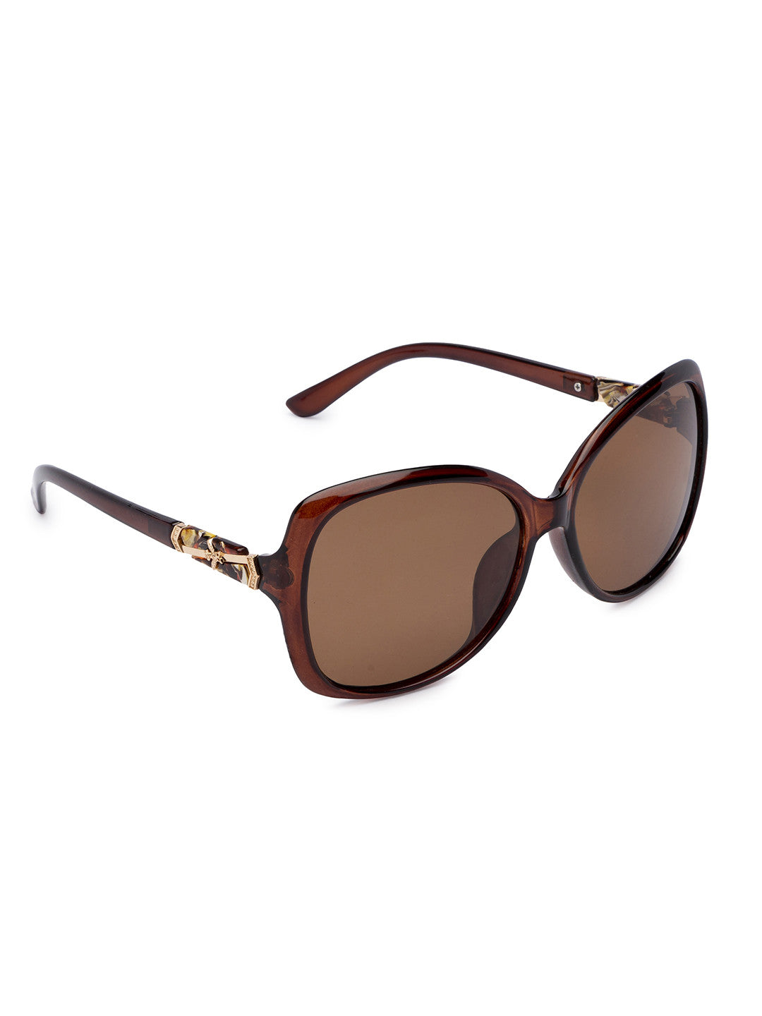 Brown Full Rim Wayfarer Sunglasses-2