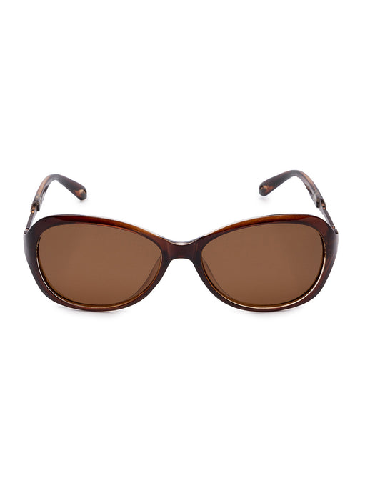 Brown Full Rim Wayfarer Sunglasses-1