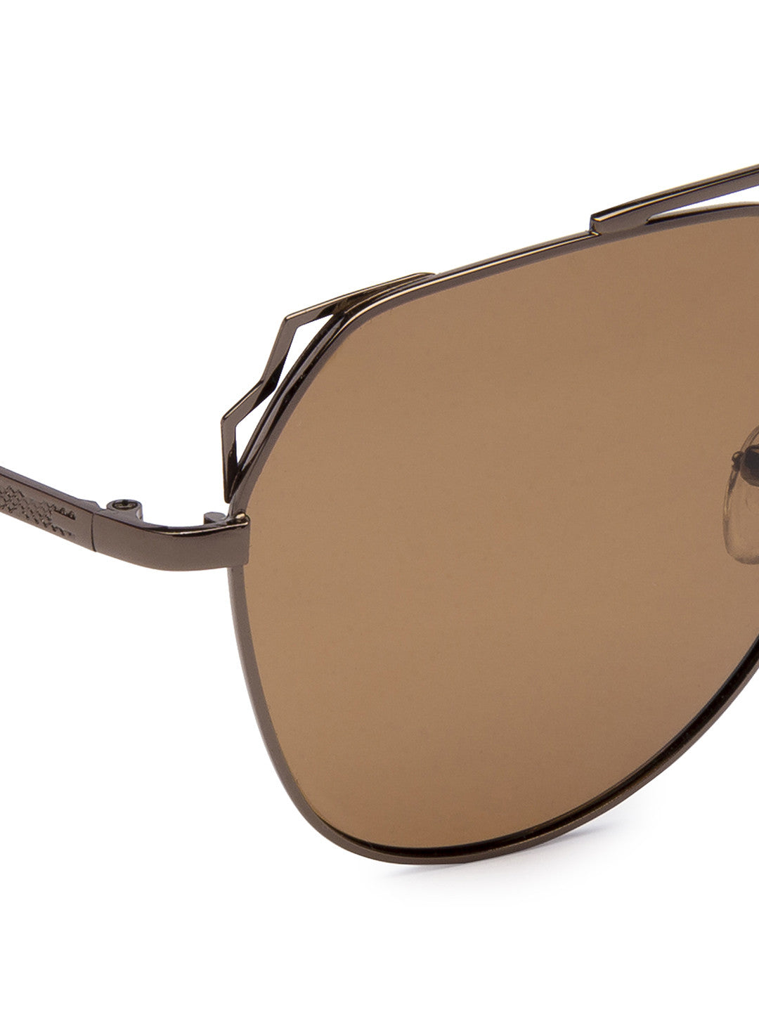 Brown Full Rim Aviator Sunglasses-4
