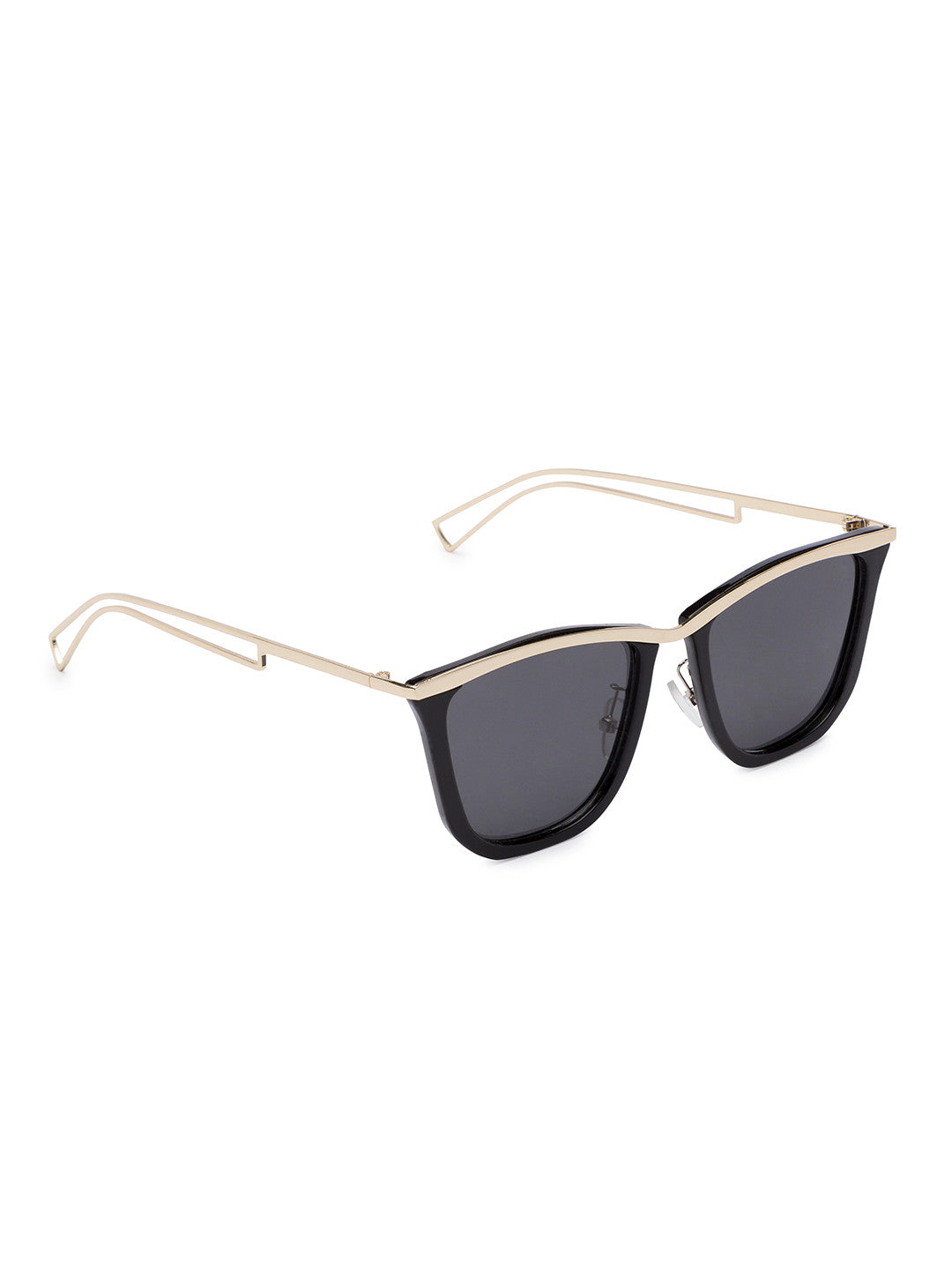 Black Full Rim Wayfarer Sunglasses-2