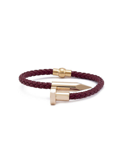 Red Gold Minimalist Bracelet-1