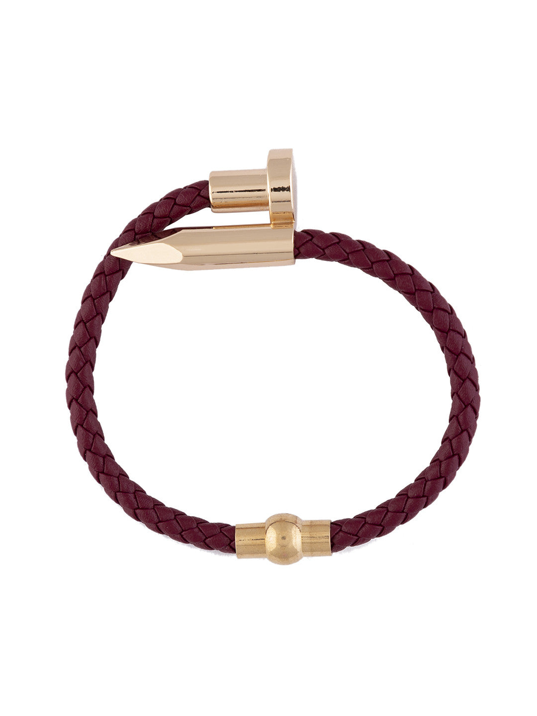 Red Gold Minimalist Bracelet-3