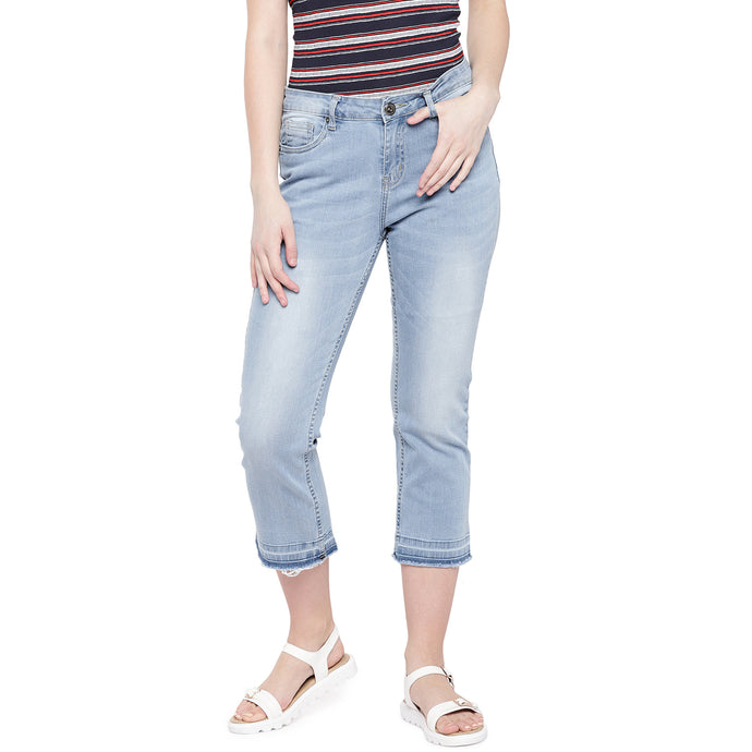 Blue Skinny Fit Mid-Rise Clean Look Stretchable Jeans-1