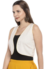 Load image into Gallery viewer, Beige Solid Open Front Shrug-2
