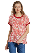 Load image into Gallery viewer, Tribal Dolman Sleeve Top-1