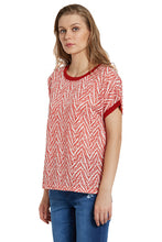 Load image into Gallery viewer, Tribal Dolman Sleeve Top-2
