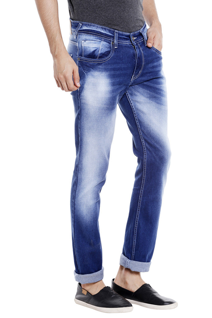 Indigo Blue Jeans for Men-4
