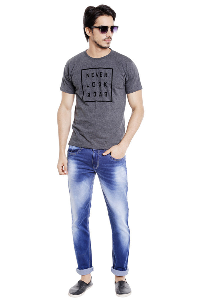 Indigo Blue Jeans for Men-5