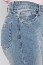 Load image into Gallery viewer, Cut-and-Sew Fringed Hem Denims-5