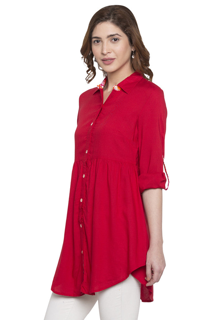 Shirt Collar Tunic-4