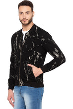 Load image into Gallery viewer, Full Sleeve Printed Black Sweatshirt-4