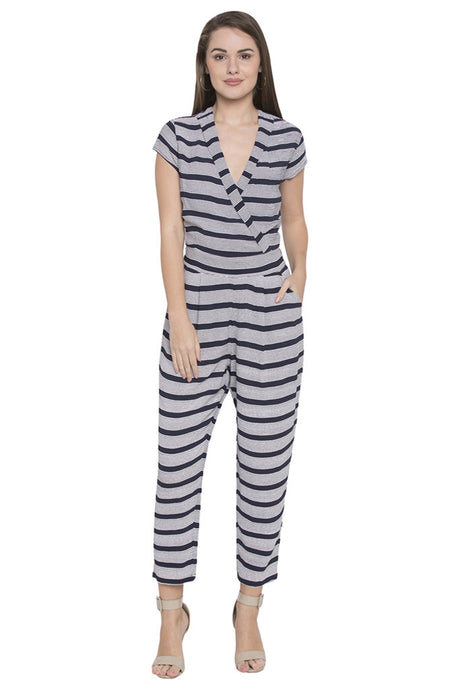 Striped Jumpsuit-1