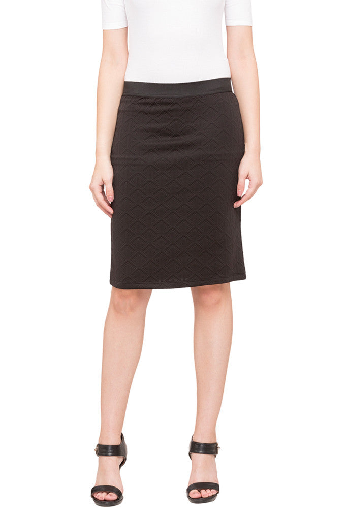 Straight Fit Skirt-1